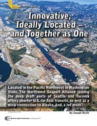 Maritime Logistics Professional Magazine, page 38,  Jul/Aug 2017