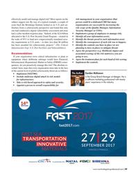 Maritime Logistics Professional Magazine, page 49,  Jul/Aug 2017