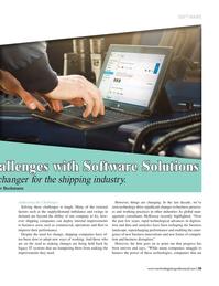 Maritime Logistics Professional Magazine, page 55,  Jul/Aug 2017