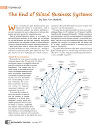 Maritime Logistics Professional Magazine, page 64,  Jul/Aug 2017