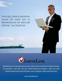 Maritime Logistics Professional Magazine, page 3rd Cover,  Jul/Aug 2017