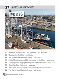 Maritime Logistics Professional Magazine, page 6,  Jul/Aug 2017