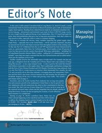 Maritime Logistics Professional Magazine, page 8,  Sep/Oct 2017