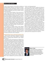 Maritime Logistics Professional Magazine, page 12,  Sep/Oct 2017