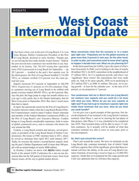 Maritime Logistics Professional Magazine, page 14,  Sep/Oct 2017
