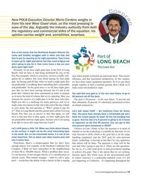 Maritime Logistics Professional Magazine, page 15,  Sep/Oct 2017