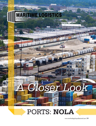 Maritime Logistics Professional Magazine, page 19,  Sep/Oct 2017