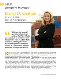 Maritime Logistics Professional Magazine, page 21,  Sep/Oct 2017