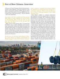Maritime Logistics Professional Magazine, page 22,  Sep/Oct 2017