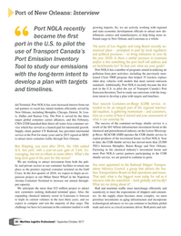 Maritime Logistics Professional Magazine, page 24,  Sep/Oct 2017