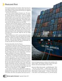 Maritime Logistics Professional Magazine, page 32,  Sep/Oct 2017