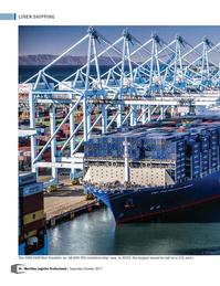 Maritime Logistics Professional Magazine, page 36,  Sep/Oct 2017