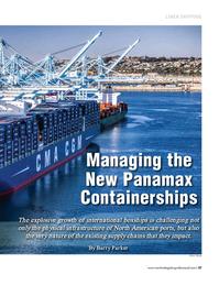 Maritime Logistics Professional Magazine, page 37,  Sep/Oct 2017