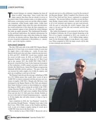 Maritime Logistics Professional Magazine, page 38,  Sep/Oct 2017
