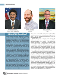Maritime Logistics Professional Magazine, page 40,  Sep/Oct 2017