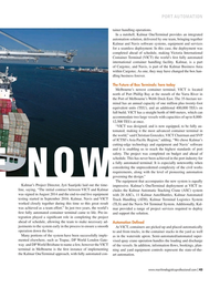 Maritime Logistics Professional Magazine, page 43,  Sep/Oct 2017