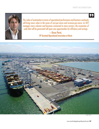 Maritime Logistics Professional Magazine, page 47,  Sep/Oct 2017