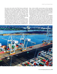 Maritime Logistics Professional Magazine, page 49,  Sep/Oct 2017