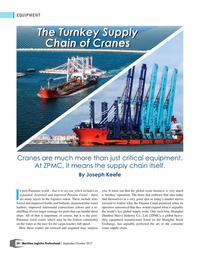 Maritime Logistics Professional Magazine, page 50,  Sep/Oct 2017