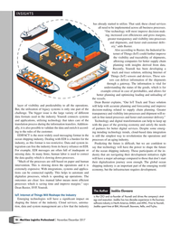 Maritime Logistics Professional Magazine, page 18,  Nov/Dec 2017