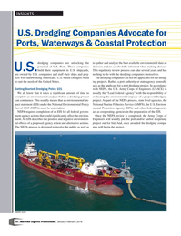 Maritime Logistics Professional Magazine, page 10,  Jan/Feb 2018