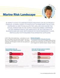 Maritime Logistics Professional Magazine, page 13,  Jan/Feb 2018