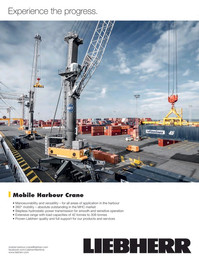 Maritime Logistics Professional Magazine, page 2nd Cover,  Jan/Feb 2018