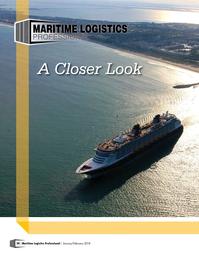 Maritime Logistics Professional Magazine, page 20,  Jan/Feb 2018