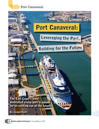 Maritime Logistics Professional Magazine, page 22,  Jan/Feb 2018
