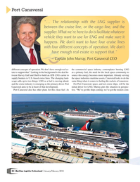 Maritime Logistics Professional Magazine, page 28,  Jan/Feb 2018