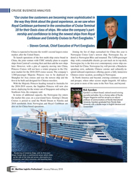 Maritime Logistics Professional Magazine, page 40,  Jan/Feb 2018