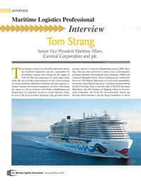 Maritime Logistics Professional Magazine, page 42,  Jan/Feb 2018