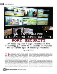 Maritime Logistics Professional Magazine, page 48,  Jan/Feb 2018