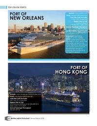 Maritime Logistics Professional Magazine, page 54,  Jan/Feb 2018