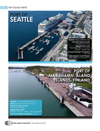 Maritime Logistics Professional Magazine, page 56,  Jan/Feb 2018