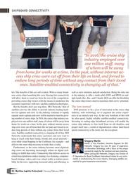 Maritime Logistics Professional Magazine, page 58,  Jan/Feb 2018