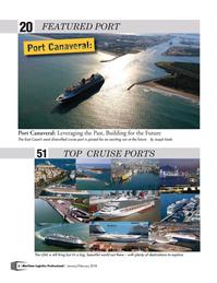 Maritime Logistics Professional Magazine, page 6,  Jan/Feb 2018