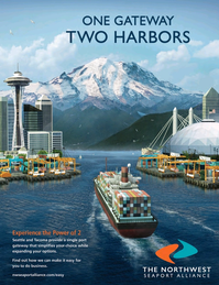 Maritime Logistics Professional Magazine, page 7,  Jan/Feb 2018