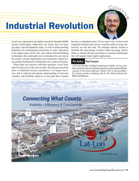 Maritime Logistics Professional Magazine, page 11,  Mar/Apr 2018