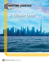 Maritime Logistics Professional Magazine, page 16,  Mar/Apr 2018