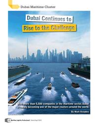 Maritime Logistics Professional Magazine, page 18,  Mar/Apr 2018