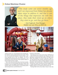 Maritime Logistics Professional Magazine, page 20,  Mar/Apr 2018