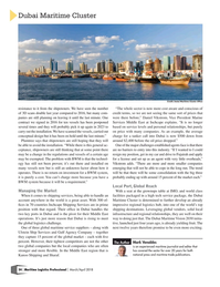 Maritime Logistics Professional Magazine, page 24,  Mar/Apr 2018