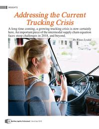 Maritime Logistics Professional Magazine, page 26,  Mar/Apr 2018
