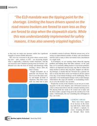 Maritime Logistics Professional Magazine, page 28,  Mar/Apr 2018