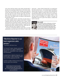 Maritime Logistics Professional Magazine, page 29,  Mar/Apr 2018