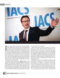 Maritime Logistics Professional Magazine, page 30,  Mar/Apr 2018