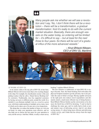 Maritime Logistics Professional Magazine, page 35,  Mar/Apr 2018