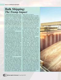 Maritime Logistics Professional Magazine, page 46,  Mar/Apr 2018