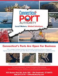 Maritime Logistics Professional Magazine, page 3,  Mar/Apr 2018